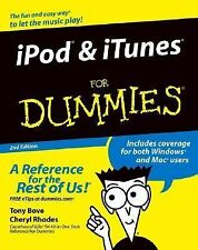 iPOD & iTUNES FOR DUMMIES - 1 USED BOOK - 2ND EDITION