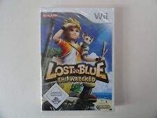 LOST IN BLUE SHIPWRECKED (Wii-Wii U) NEU OVP DEUTSCH***