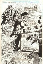 Midnight Sons Unlimited #4 p.29 - Ghost Rider & Whole Cast - 1994 by John Hixson