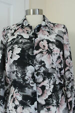 size  12 stunning chiffon shirt from marks and spencer limited collection