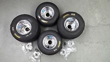 Go Kart Wheels, Go Kart Tires, Radio Flyer Wagon Tires, w/wheel hubs, Set of (4)
