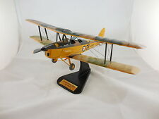 RAF De Havilland Tiger Moth DH 82 Mk.II Desk Top Wood Display Model 1/20