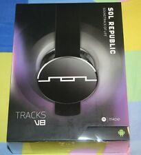 BRAN NEW SOL REPUBLIC Tracks On-Ear Interchangeable Headphones M4DE Onyx v8 engi