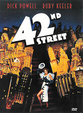 42nd Street ~ Dick Powell Ruby Keeler ~ DVD ~ FREE Shipping in USA