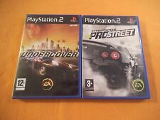 Need for Speed Pro Street + Undercover Playstation 2