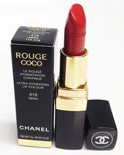 Chanel Rouge Coco Lipstick Ultra Hydrating Lip Colour 418 Misia 0.12oz.