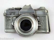 35 mm Classic Film Camera Photography 3D Belt Buckle