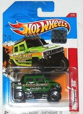 2012 HOT WHEELS FACTORY SET THRILL RACERS EARTHQUAKE HUMMER H2