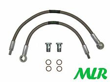 SIERRA COSWORTH 2WD / 4WD STEEL BRAIDED TURBO WATER FEED & RETURN HOSE PIPES ZF2