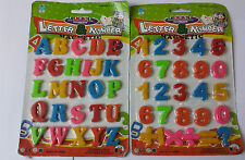 Magnetic Letters and Numbers Fridge Magnets  Kids Baby Alphabet AND NUMBERS