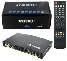 Openbox V8S Digital Freesat Pvr Full HD TV Receptor De Satélite Caja de canal Uk-Nuevo
