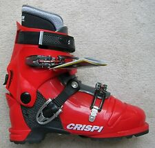 NEW CRISPI DIABLO MS RED GREY THERMO AT (ALPINE TOURING) BOOTS - 31.0