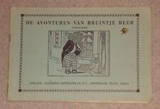 1960s/70s DE AVONTUREN VAN BRUINTJE BEER DUTCH RUPERT BEAR PAPERBACK NEGENDE 9