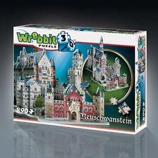 3d-Puzzle edificio - 3d neuschwans TEIN (890 pezzi) di Wrebbit