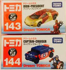 Takara Tomy Tomica Dream MARVEL Captain America & Ironman ( Set of 2 ) - Hot