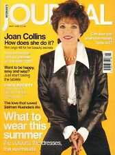 JOAN COLLINS  - SALE !!! - British Magazine WOMAN'S JOURNAL 1999 C#41