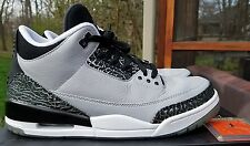 Nike Air Jordan 3 Retro Wolf Grey 136064 004 Size 10