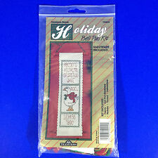 Christmas Goose Holiday Bell Pull Counted Cross Stitch Kit T8805 Traditions