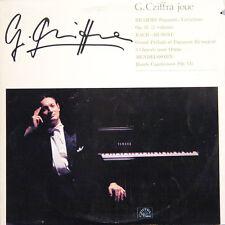 GEORGES CZIFFRA Joue Brahms Bach Mendelssohn JAP Press Cziffra YM 1001 LP