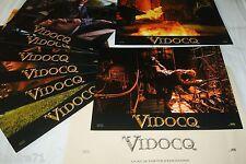 VIDOCQ  ! g canet  jeu  8 photos cinema lobby cards fantastique