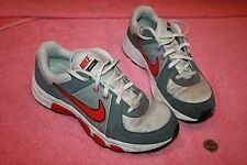 2012 Used Grey & red & White Nike Youth size US 7