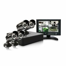 Swann DVR4-1525 4 Channel 960H DVR with 4 PRO-615 Cameras and 7-Inch Monitor UK