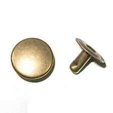 Rapid Rivets XL 11mm Cap 8mm Post Antique Brass speedy