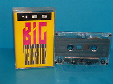 K7 audio  - TAPE - YES - BIG GENERATOR - 1987