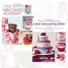 Lindy Smith Cake Decorating Collection 2 Books Set Mini Cakes Academy Step
