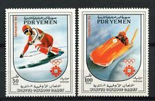 Yemen PDR 1983 SG#313-4 Winter Olympic Games MNH Set #A59303