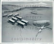 1960 Artist Conception General Electric HIPAR Radar  Press Photo