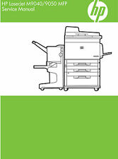 HP Laserjet M9040 / M9050 MFP Service Manual (Contains Parts and Diagrams)