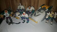 NICE LOT Vintage MIGHTY DUCKS Action Figures CARS Vehicles DISNEY Hockey