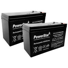 12V Volt 9Ah 2-Pack SLA Sealed Lead Acid Rechargeable Battery 3 Year Warranty
