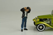 Grease T-Bird mit Kamm  Figuren Figur 1:18 Figures American Diorama no car