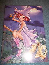 WITCH***COMIC*****POSTKARTE******