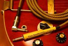 CRYO SoniKLEER 20' CABLE FOR FENDER GIBSON ELECTRIC GUITAR BASS Cryogenic Cord