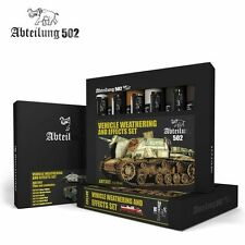 502 Abteilung Modeling Oil Paint Set- ABT-302 Weathering Effects (6 Colors)
