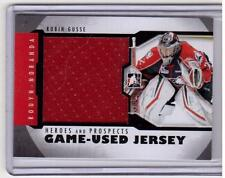 ROBIN GUSSE 12/13 ITG H&P Rookie Jersey RC M-44 Rouyn-Noranda Huskies