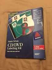 Avery 6691 CD/DVD Labeling Kit