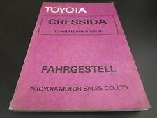 Werkstatthandbuch Toyota Cressida RX30 RX35 Fahrgestell Getriebe Bremsen 1977