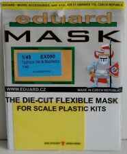 Eduard 1/48 EX090 Canopy Mask for the Hasegawa Hawker Typhoon (Bubble canopy)