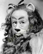Bert Lahr in The Wizard of Oz as Cowardly Lion 8x10 Photo 001