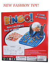 Fashion Cute Fun Classic Complete Cage Bingo Lotto Game Set Gift Party Christmas