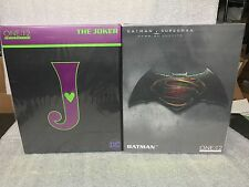 Mezco ONE:12 the JOKER and BATMAN dawn of justice figure  IN STOCK