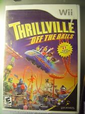 THRILLVILLE OFF THE RAILS Nintendo Wii NEW