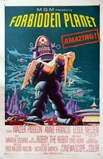 Forbidden Planet Vt Movie Poster 11x17 Mini Poster