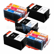 9 PACK 920XL NEW GENERIC 920 HIGH YIELD 920XL w/Chip+INK LEVEL for HP Printer