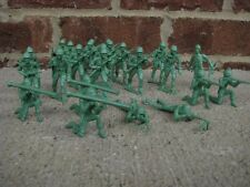 MPC WWII Infantry Toy Soldiers 60MM Playset Diorama