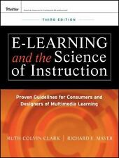 E-Learning & the Science of Instruction
